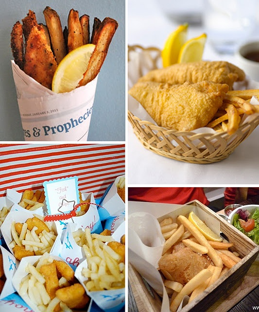 17 best images about o fish ally party on pinterest fish for Fish meal ideas