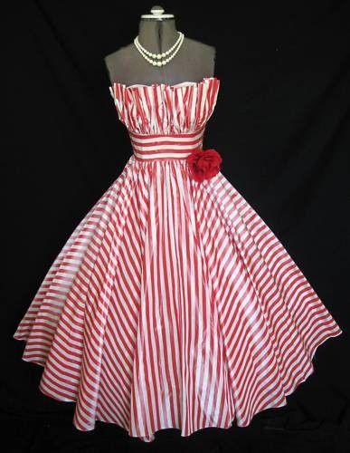 Dress: Insane skirt action http://www.etsy.com/listing/54116376/1950s-custom-made-shelf-bust-full