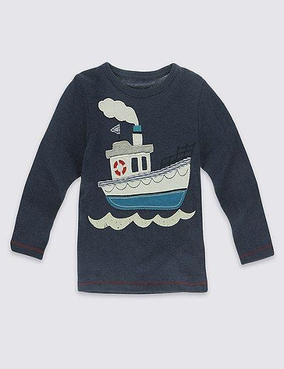 Cotton Rich T-Shirt (3 Months - 5 Years) | Marks & Spencer London