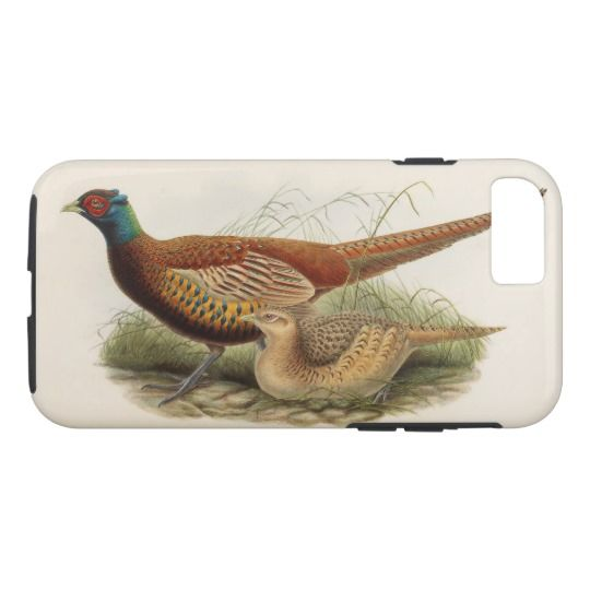 Colorful pheasant iPhone 7 case