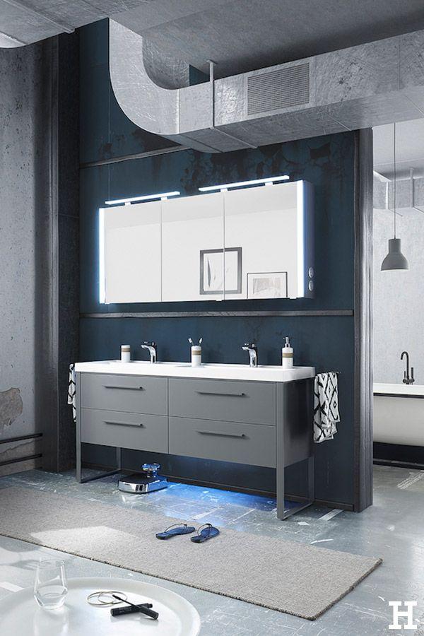 Calmo Waschtischkombination Nepo Badezimmer Einrichtung Mobel