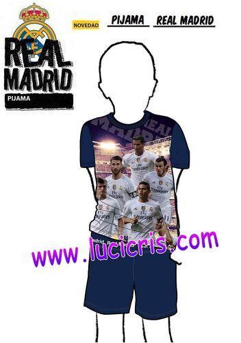 Pijama Niño del REAL MADRID Oficial JUGADORES