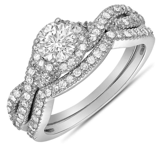 23 Beautiful Infinity Wedding Ring Sets Infinity Wedding Rings And