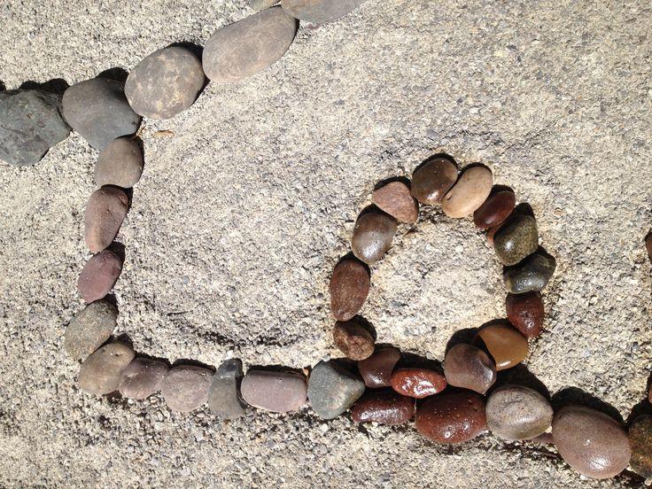 18 best images about inspirational rock desert for Spray paint rocks for garden