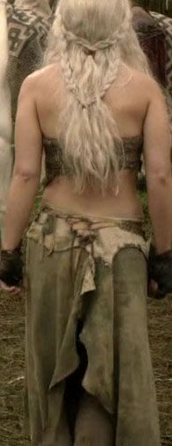 Your Kahl Drogo costume looks great so far! It's awesome that you're working on it on your own. I'm paying someone to make my Daenerys Targaryen costume for PAX.