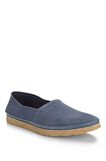 Mens Casual Shoes Suede Slip-on 'Marnon' Shoe