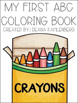 c is for coloring this packet contains 26 coloring pages one for each letter of the alphabet i also thought a fun back to school idea for - Coloring Pages Kindergarteners