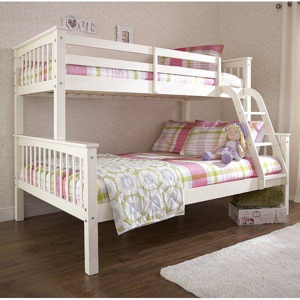 Just Kids Barnese Triple Sleeper Bunk Bed & Reviews   Wayfair.co.uk
