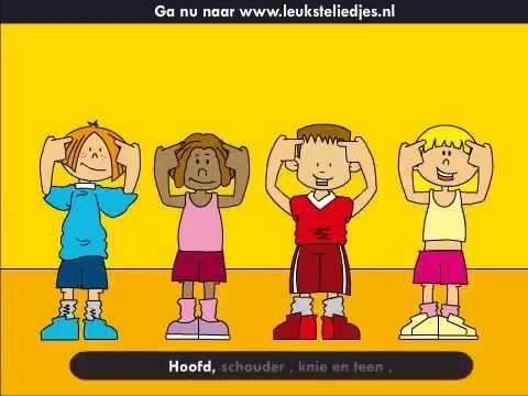 Kinderliedjes- Hoofd, Schouder Knie en teen - YouTube favoriet liedje van allemaal!