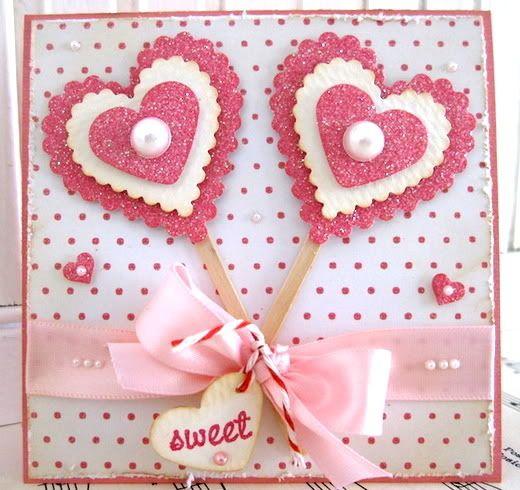 1000 images about handmade cardsvalentinelove – Pinterest Valentine Day Cards