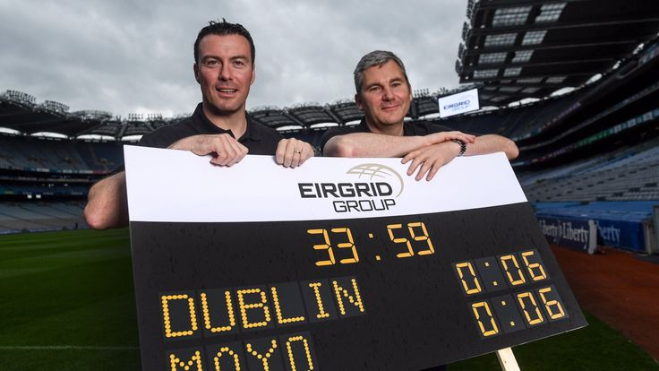 WIN A DIGITAL CLOCK AND SCOREBOARD FOR YOUR CLUB IN EIRGRID COMPETITION   We Are Dublin GAA