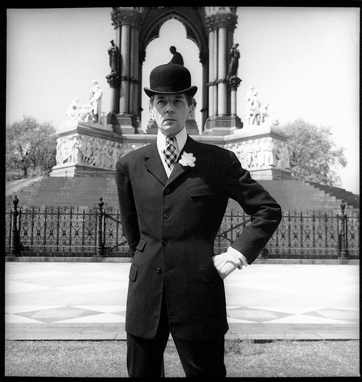 """1951, Bunny Roger - Neil Munro (""""Bunny"""") Roger (9 June 1911 in London - 27 April 1997 in London) was an English couturier, war hero, and dandy. S)"""