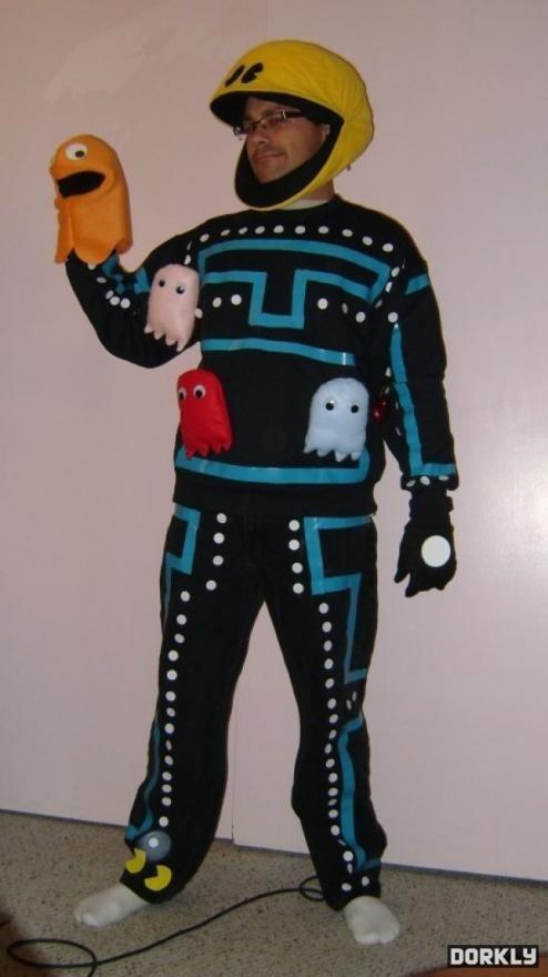 A Funny Pac Man Costume | CostumePrize.com