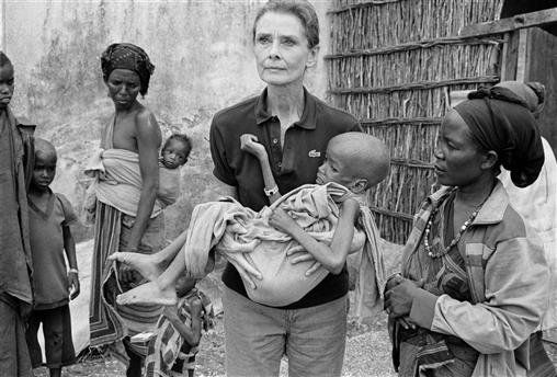 """I walked into a nightmare. I have seen famine in Ethiopia and Bangladesh, but I have seen nothing like this – so much worse than I could possibly have imagined. I wasn't prepared for this."" Audrey Hepburn, UNICEF photograph, Horn of Africa"
