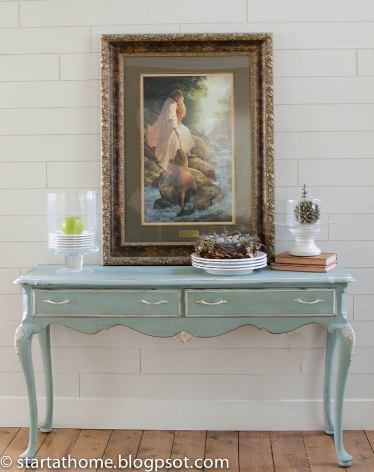 Painted Sofa Table Annie Sloan Chalk Paint Ideas Pinterest The Guest Ducks And
