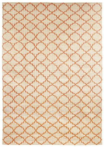 New Geometric Beige/Orange matta | Nyheter | Artilleriet | Inredning Göteborg