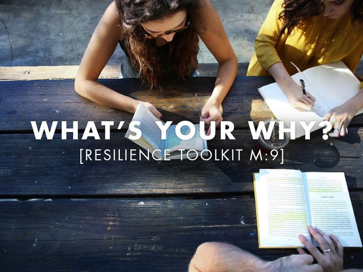 What's Your Why?Why do you do what you do? What made you choose your job? Your hobbies? Your friends? The charities or causes you support with your time and money? Do you know? Does it even matter?  We are talking about finding your passion and what gives your life meaning, we have a great technique for helping you figure this out.     Contribution   Resilience   Connection