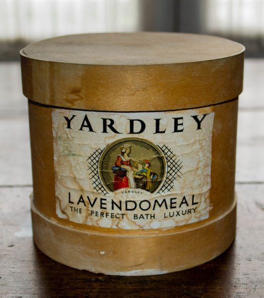 Artifact of the Week: Yardley's Lavendomeal - The Perfect Bath Luxury