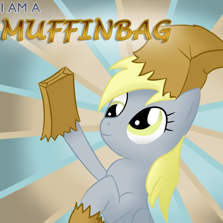 Derpy Hooves Is A Muffin Bag