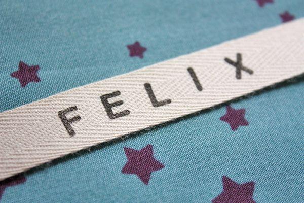 DIY : faire des bracelets / étiquettes prénom maison