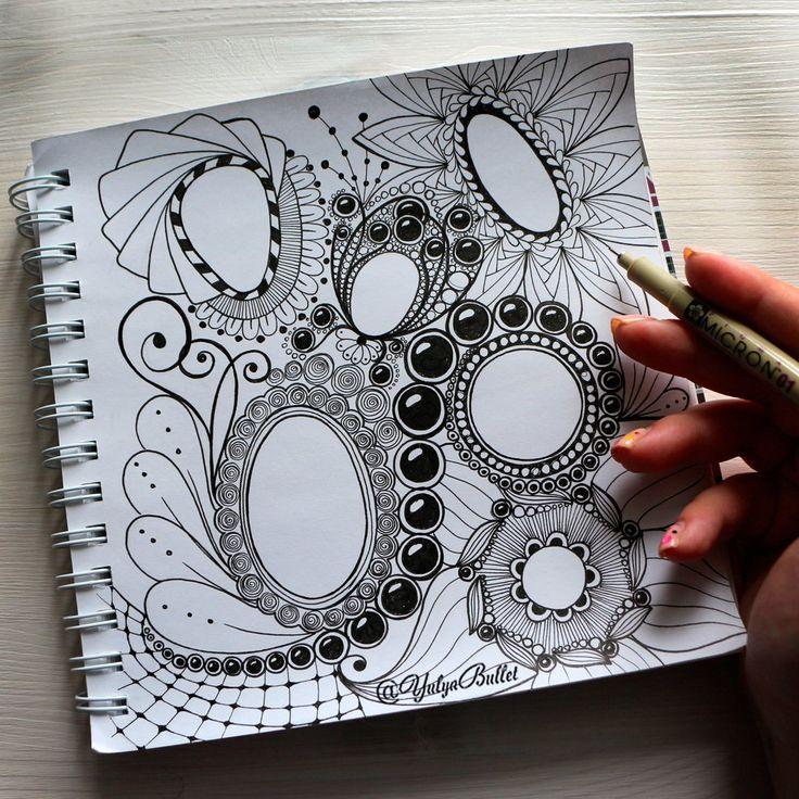 Дудлинг для начинающих | Перо | Арт | Узоры | Как рисовать дудлинг | Рисунки | Рисунок | Камни | Поэтапно | Зентангл | Скетчбук | Картинки | Идеи | Doodles | Doodling