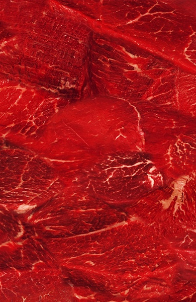 Meat. Art Print by Nathan