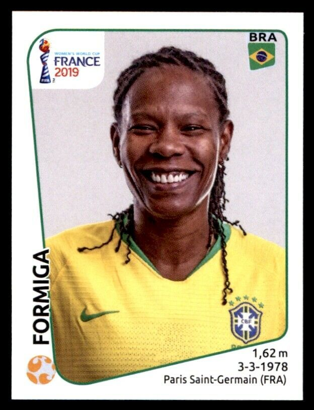 Panini Frauen WM 2019 Sticker 227 Brasilien Formiga