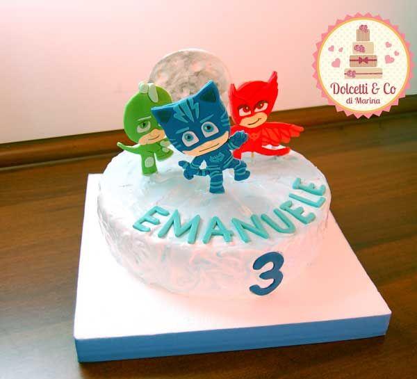 Torta Super Pigiamini / Pj masks cake