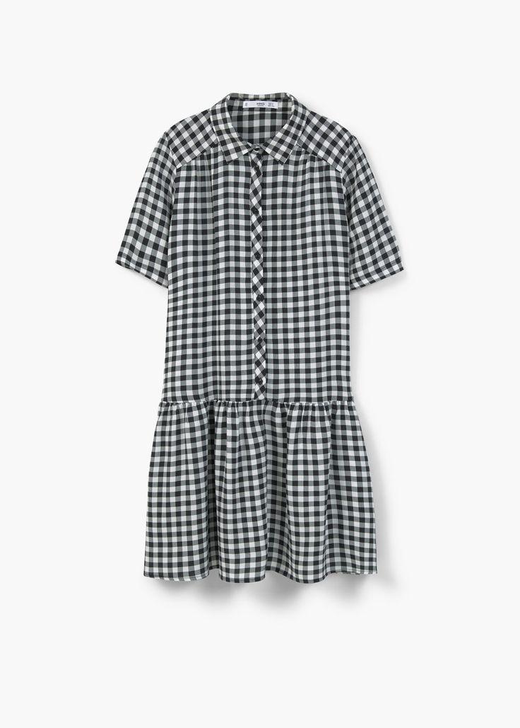Flowy print dress