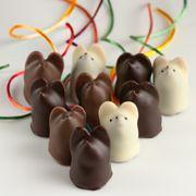 Chocolate Mice - multi-flavored filling