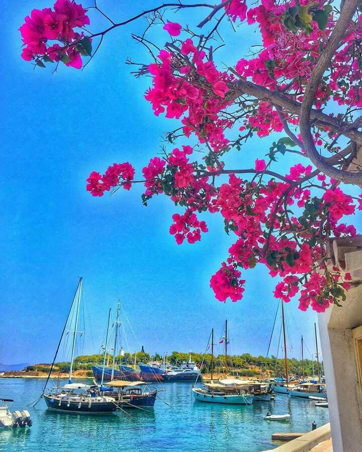 Spetses island, Saronicos bay, Greece