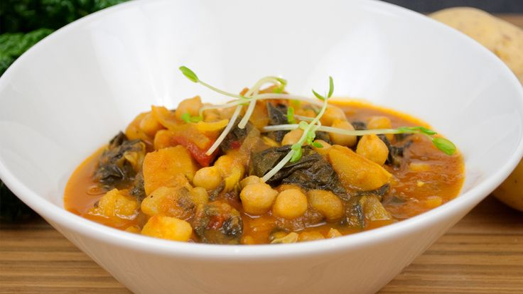 Swiss Chard and Chickpea Stew