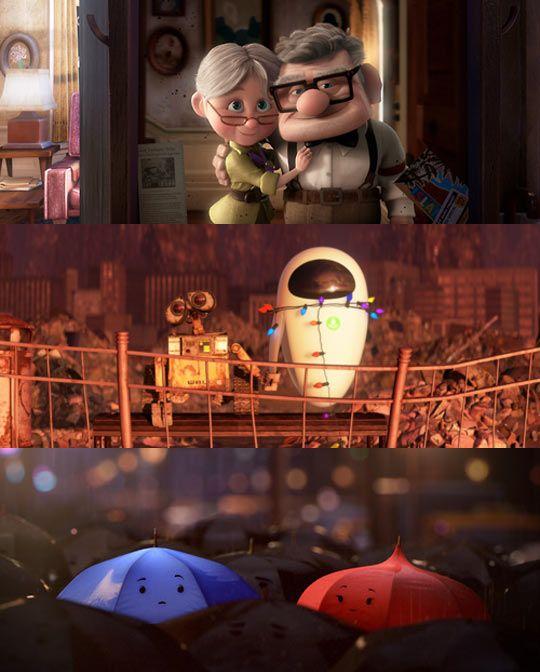 Pixar's cutest couples...