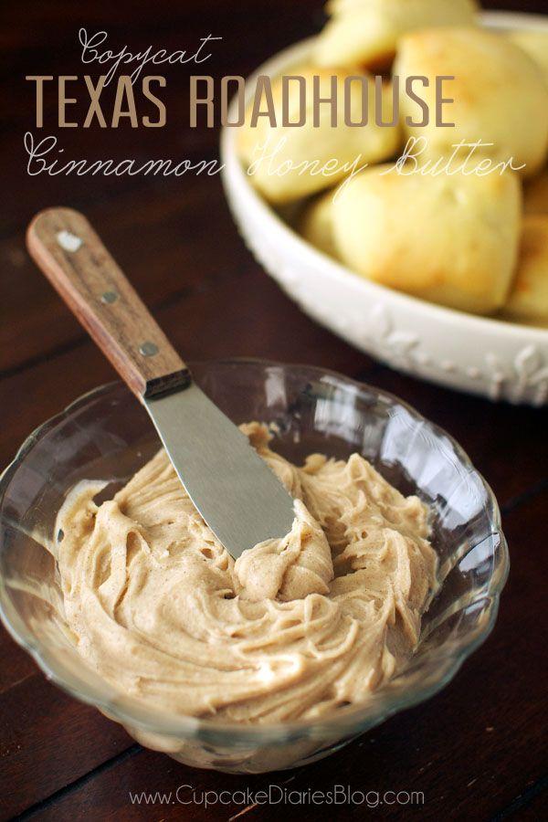 Copycat Texas Roadhouse Cinnamon Honey Butter || cupcake diaries