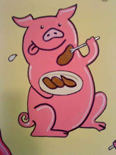 This Little Piggy had Roast Beef...