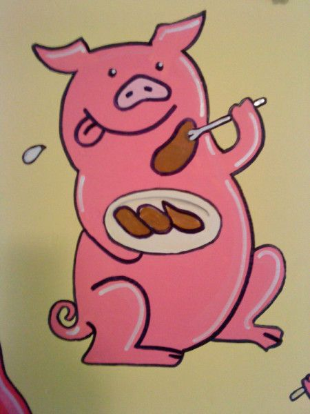 This Little Piggy had Roast Beef...
