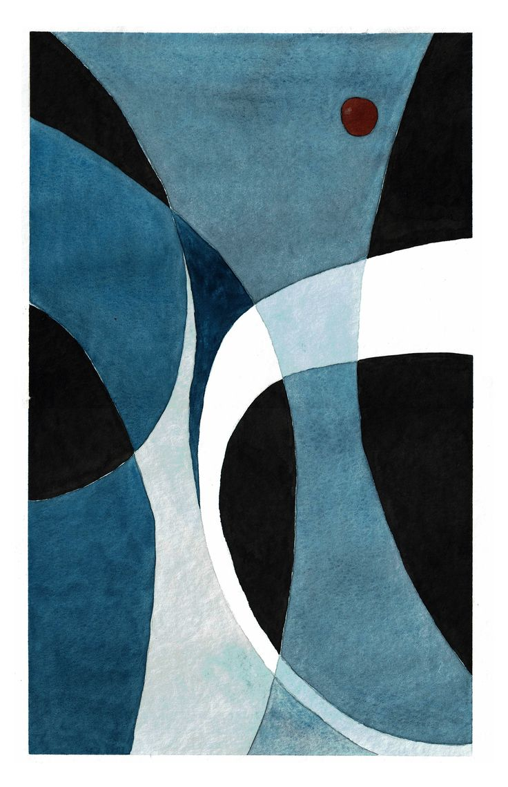 """Untitled"" by Lukas Bolz #circle #abstract #abstractart #art #watercolour #watercolour #ink #painting"