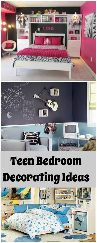 Teen Bedroom Decorating • 5 Quick Tricks and Ideas to inspire you while decorating your teens room!