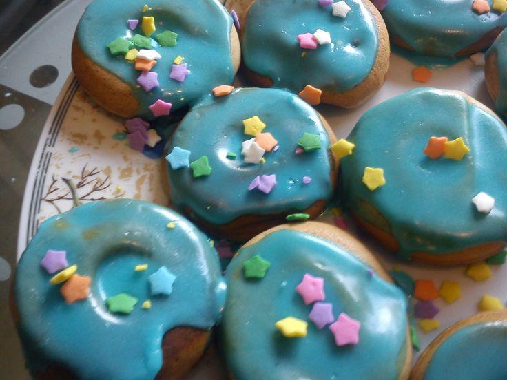 Vegan Donuts (Icing w/ Sprinkles)
