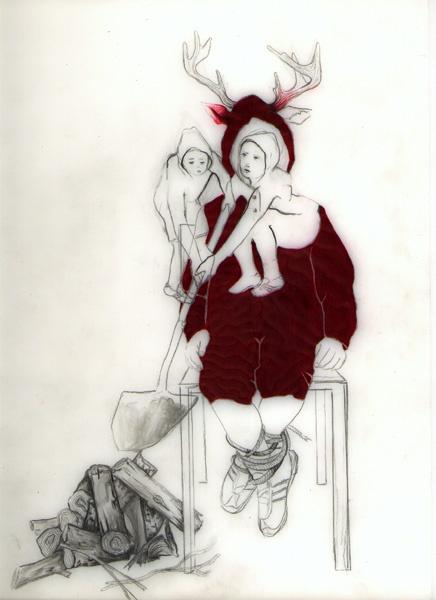 Woodland Series, 2003 - Red Deer Boy