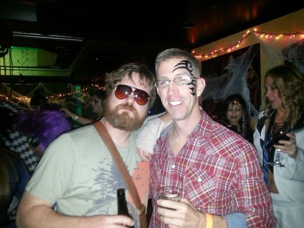 "Halloween costume - The Hangover ""Alan"" and ""Stu"""