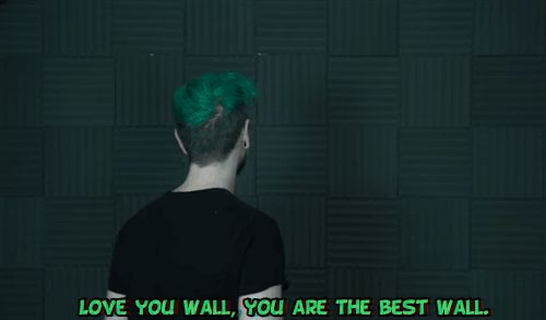 ......so... I want to have a relationship like Jack and the wall has xD