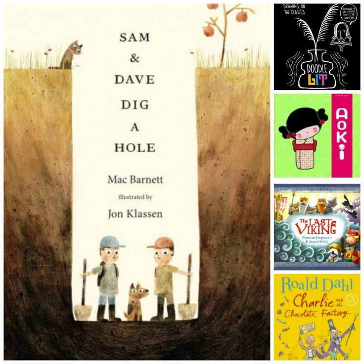 In June's bookclub we've been reading about Japan, bullying, digging a hole, a chocolate factory and doodling.