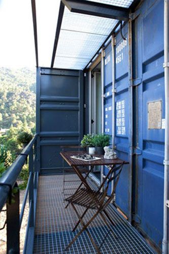 17 best images about shipping container houses on for Extension container