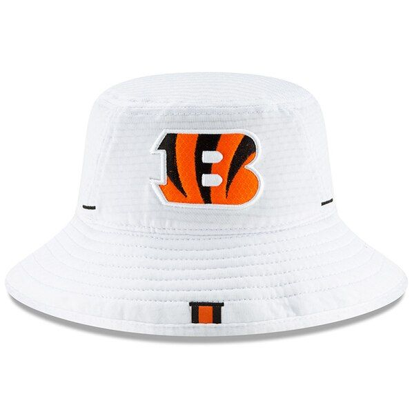 951940a1 Men's Cincinnati Bengals New Era White 2019 NFL Training Camp ...