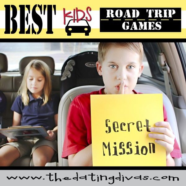 Have the Best Road Trip EVER with your kids using these fantastic games