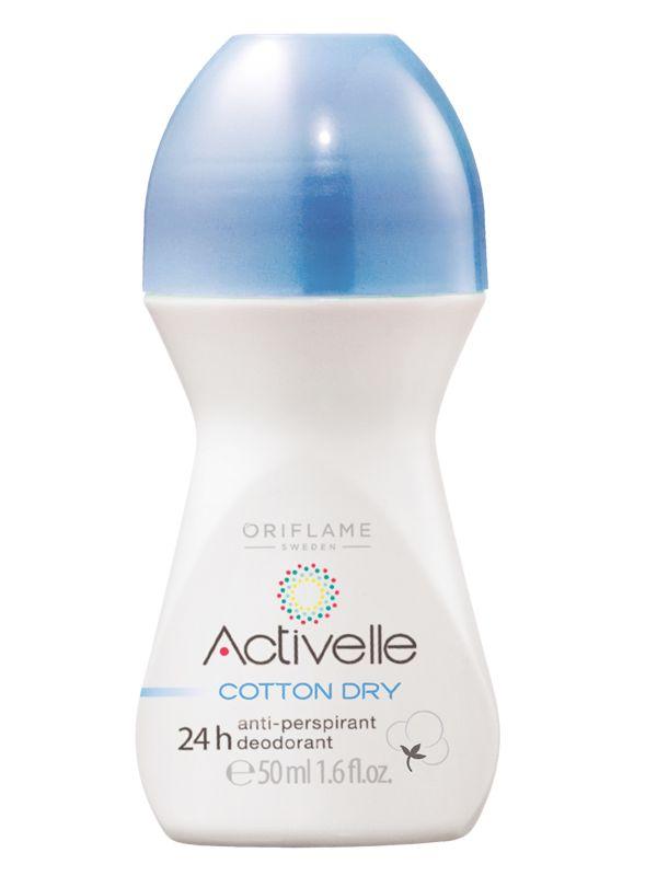 Desodorante Antiperspirante 24h Algodón Absorbente Activelle | Oriflame Centro América Afiliación Gratis Natalia Mora 8349-2524