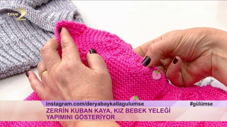 Derya Baykal'la Gülümse: Kız Bebek Yeleği Yapımı