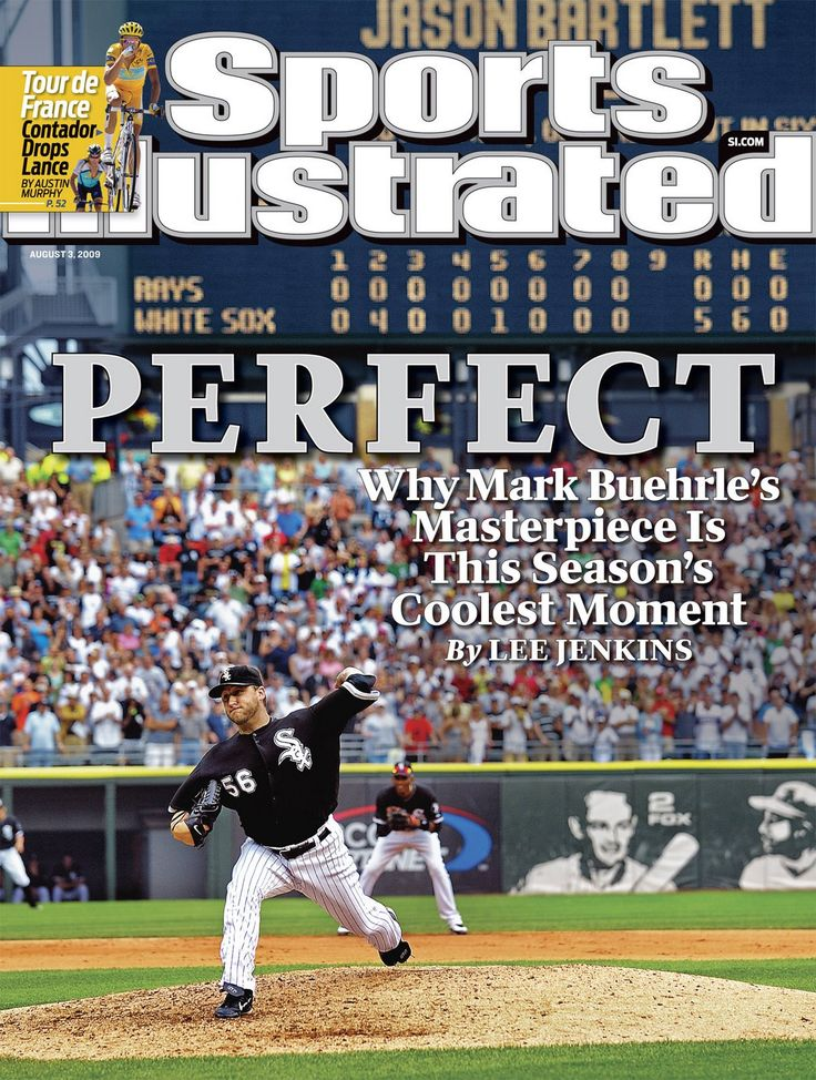 White Sox Mark Buehrle's perfect game on July 23, 2009