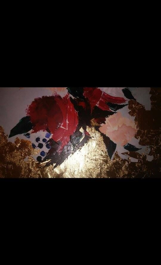 Floral painting by My Dominance